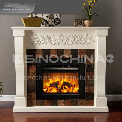 Moroni electric fireplace DQ000446 with heating thickened cold-rolled steel plate material