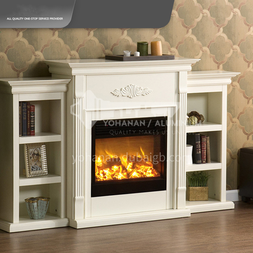 Moroni electric fireplace DQ000445 with heating thickened cold-rolled steel plate material