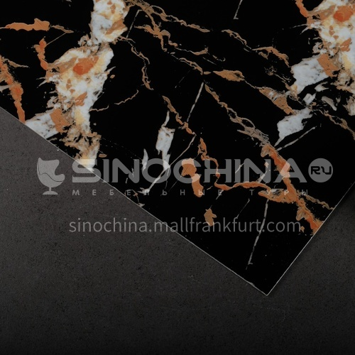1220 * 2440 modern simple living room TV background wall stone plastic board PVC marble sheet series (2)