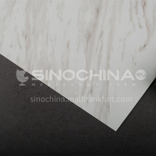 1220 * 2440 modern simple living room TV background wall stone plastic board PVC marble sheet series 3
