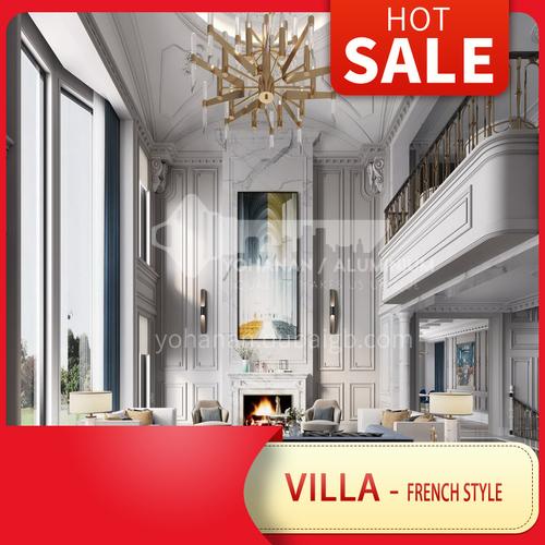 Villa Design-French Style Luxury Villa Design BSR1003