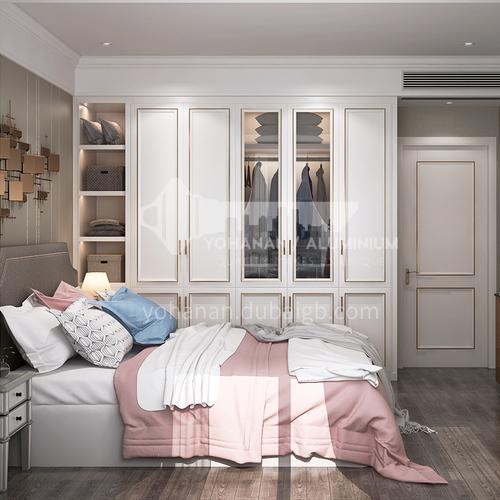 European style wardrobe classical PVC WITH HDF wardrobe-GW-060