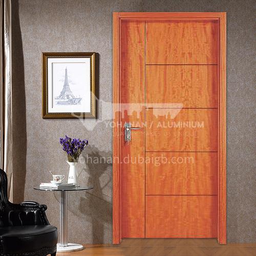 American red oak solid wood door entrance door paint interior door classical luxury style 37