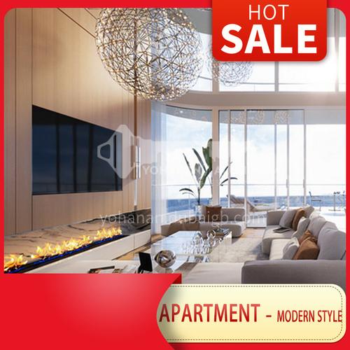 Apartment Design-Modern Penthouse Apartment Design BSR1007