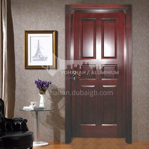 Congo Sapele solid wood door luxury solid wood door classical style interior room door45