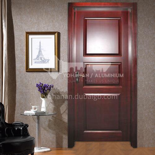 Congo Sapele solid wood door villa door classical style room door46