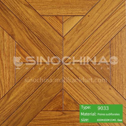 15mm multi-layer solid wood art parquet floor 9033