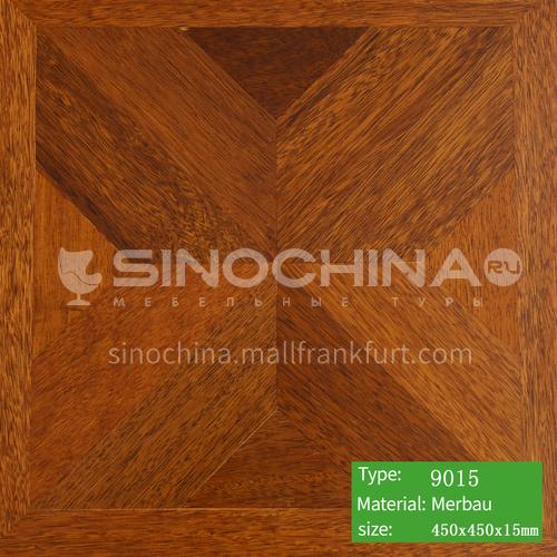 15mm multi-layer solid wood art parquet floor 9015