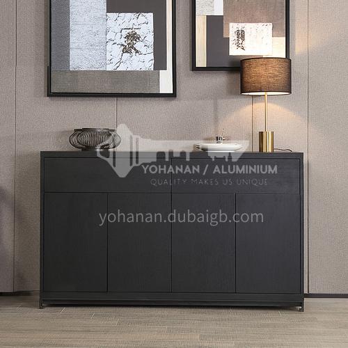 KYL-KK3211 Italian minimalist sideboard modern minimalist dining room cabinet solid wood four-drawer cabinet Marillo entrance cabinet storage cabinet