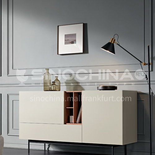 KYL-KK3736 Italian minimalist sideboard modern minimalist dining room cabinet solid wood four-drawer cabinet Marillo entrance cabinet storage cabinet