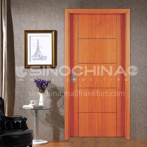 Thai oak solid wood door entrance door paint interior door classical luxury style 35