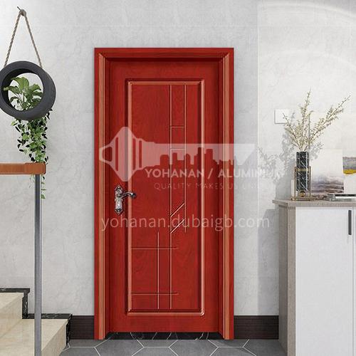 High quality simple style composite paint solid wood room door hotel apartment door 5