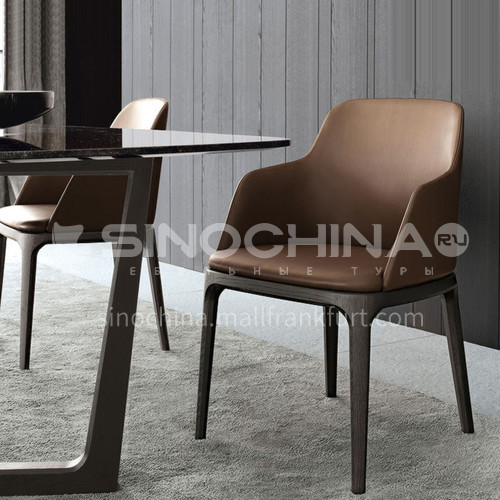 HT- octagonal chair with armrests classic dining chair high-quality ash wood frame + high-density sponge + high-quality Xipi solid wood curved board + high-density sponge + high-quality Xipi