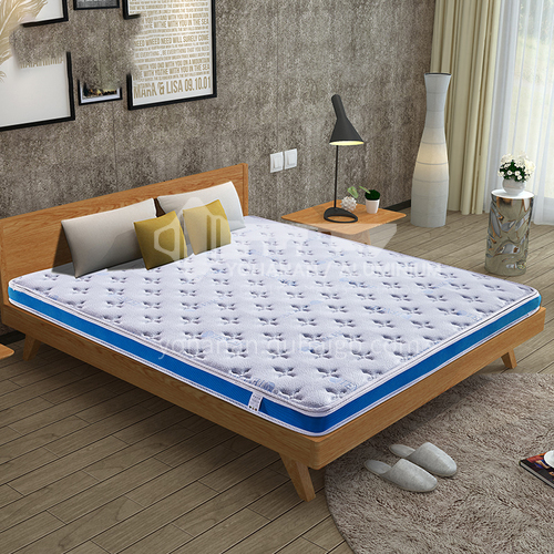 MSMY-M-7- Soft and hard coconut palm, independent spring, hotel quality, natural latex mattress