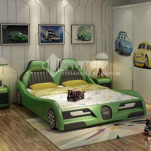 BX-1 Bedroom high-density sponge fashion high-end car model children bed