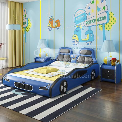BX-4  Bedroom high-density sponge fashion high-end car model children bed