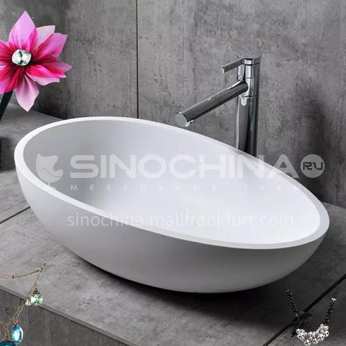 Artificial stone basin art basin countertop basin T-004