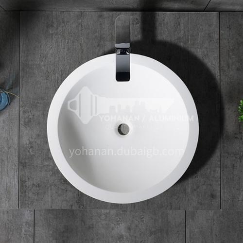 Artificial stone basin art basin countertop basin  T-006