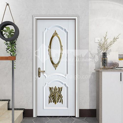 G classic style luxury high density board composite paint door interior door bathroom door kitchen door hotel apartment door 15