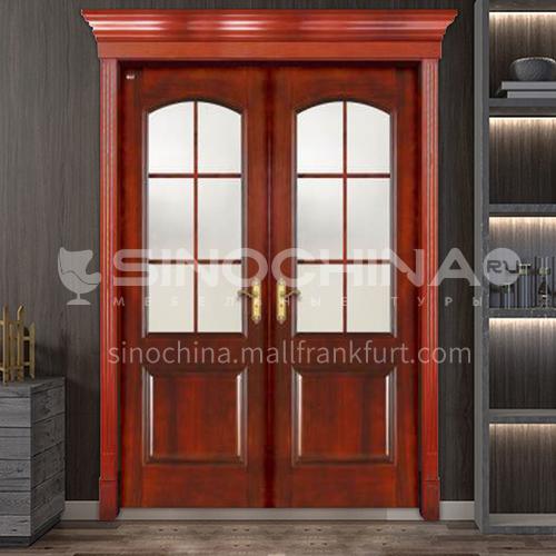 G luxury classic style new style outdoor door entrance door oak door anti-theft security 17