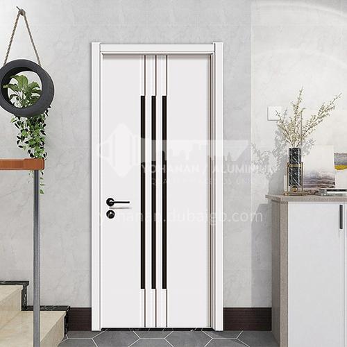 Simple design mute composite paint solid wood door hotel apartment room door 20
