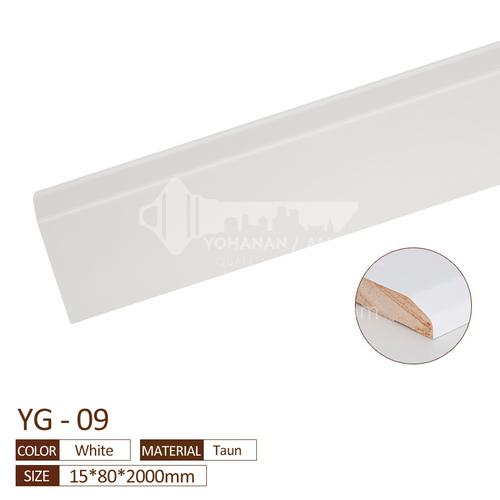 Solid wood skirting YG-TAUN