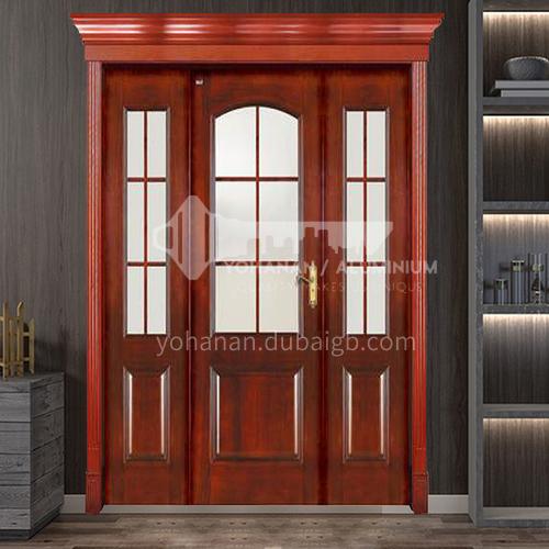 G Congo Sapele Swing Door Luxury Classic Style New Style Outdoor Door Entry Door Log Door Anti-theft Security 19