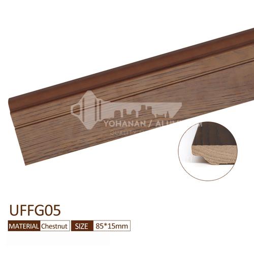 Solid wood skirting YG-chestnut