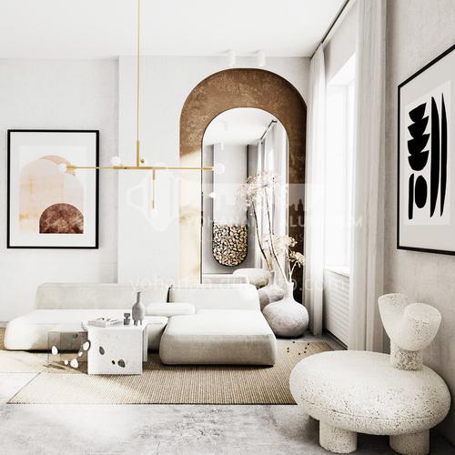Apartment-European Apartment Design ANS1038