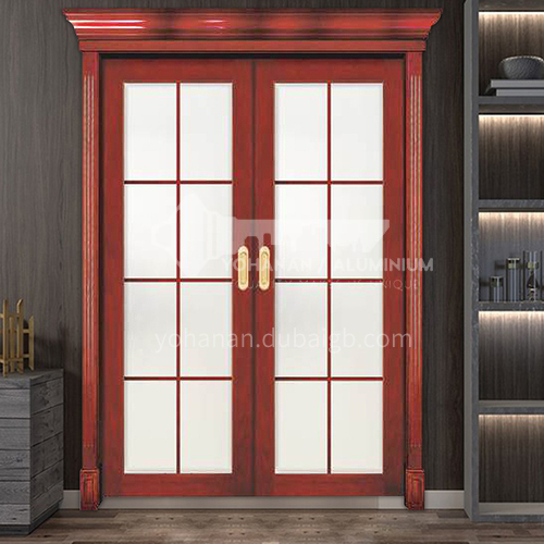 G Congo Sapele Luxury Classic Style New Style Outdoor Door Entry Door Log Door with Glass Anti-theft Security 24