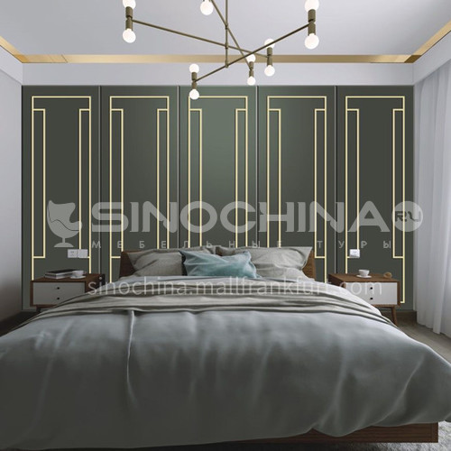 Customized background wall soft and hard bag BW004