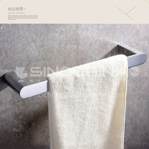 Bathroom accessorieswall hanging towel rack single rod bathroom hardware all copper towel rack HDP-HI08004