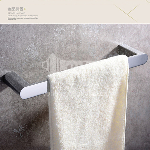 Bathroom accessorieswall hanging towel rack single rod bathroom hardware all copper towel rack HDP-HI08004