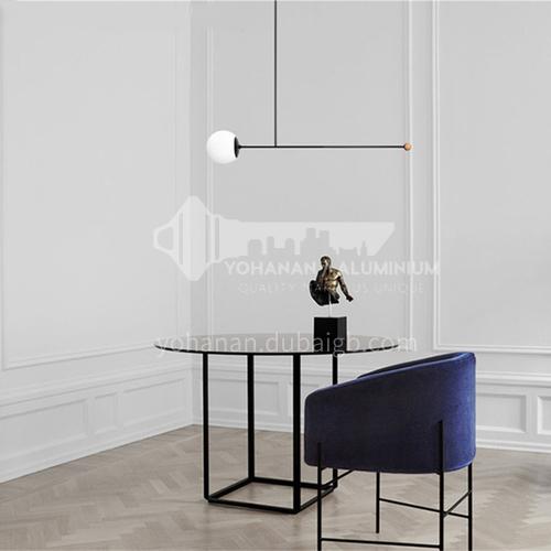 Denmark concept design creativity Nordic minimalist modern led living room chandelier/dining pole minimalist adjustable chandelier-YDH-9264