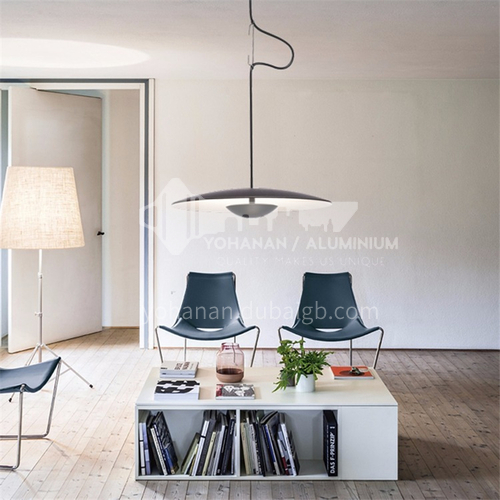 Danish designer dining room chandelier single head dining room lighting post modern minimalist Nordic creative UFO bar chandelier-YDH-9093