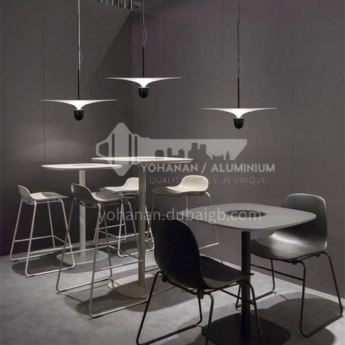 Denmark Nordic minimalist designer art personality creative flying saucer chandelier restaurant bar bedroom bedside small chandelier-YDH-9150
