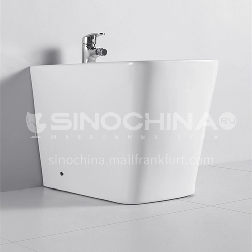 Ceramic one piece square bidet toilet cp293