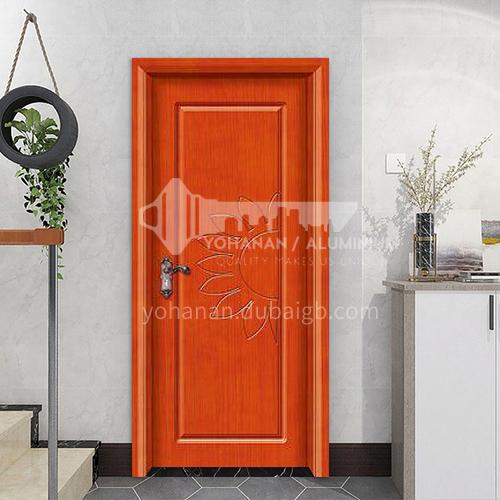 Simple design mute composite paint solid wood door hotel apartment room door 37
