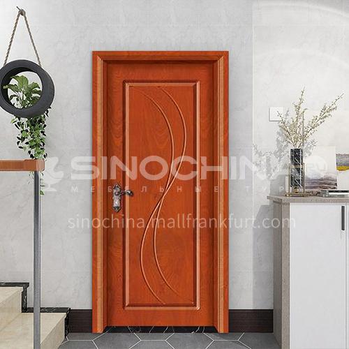 Simple design mute composite paint solid wood door hotel apartment room door 38