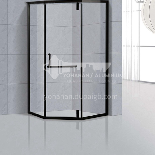 Bathroom shower partition   Diamond shape   shower room (customizable)