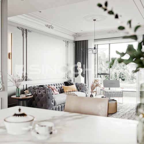 Apartment Design-Stylish French Apartment Interior Design AFS1033