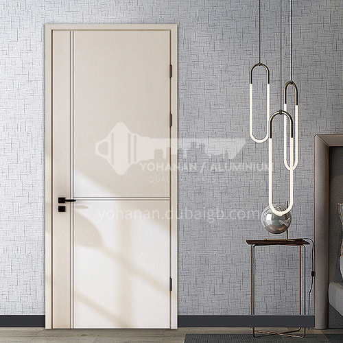 Fashionable style water-based ink composite solid wood door6