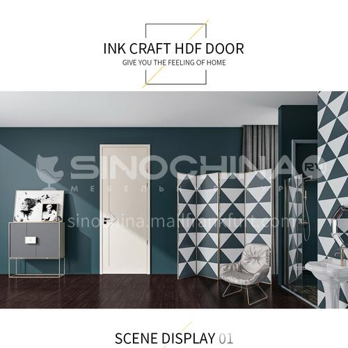 Environmental protection, zero formaldehyde, water-based ink composite solid wood door8