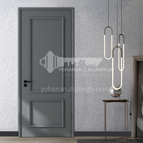 Composite paint and ink craft decoration line home villa modern interior wooden door15