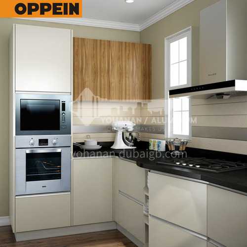 Modern design  UV lacquer with HDF kitchen cabinet- OP16-HPL02