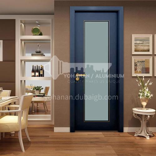 Simple design mute composite paint solid wood door room door 43