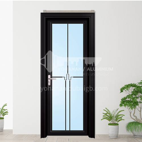 1.2mm aluminum alloy swing door double-layer hollow tempered glass craft flower, can be used in bathroom, toilet, balcony garden, kitchen