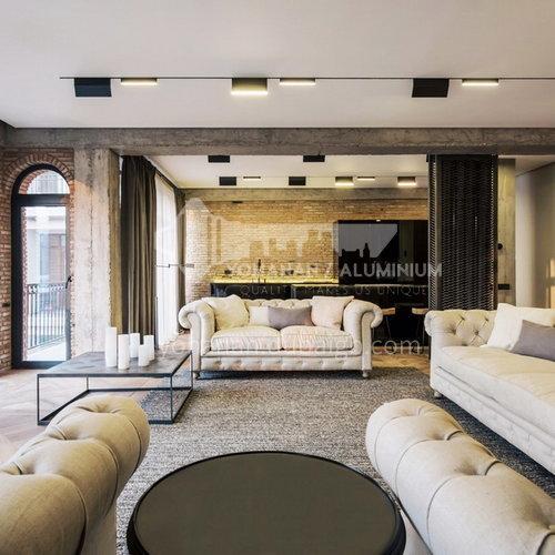 Apartment Design-Modern Industrial Style Apartment Design AIS1006