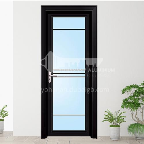 1.2mm Aluminum opening  door with double temper glass