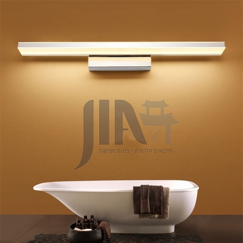 Simple led mirror front light waterproof and anti-fog aluminum bathroom lamp hotel modern bathroom mirror lamp JS-6420